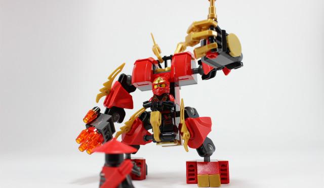 レゴ ニンジャゴー カイのファイヤー・ロボ