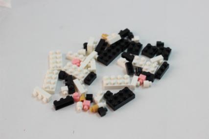 nanoblock フレンチブルドッグ パイド11
