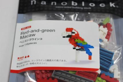 nanoblock セキセイインコ3