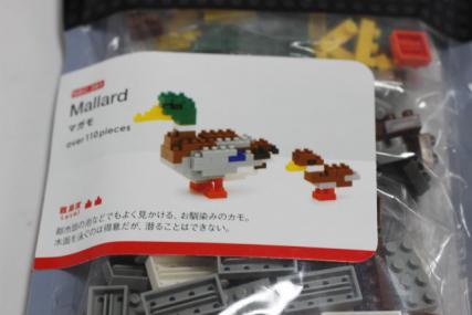 nanoblock マガモ3