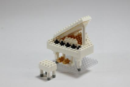nanoblock グランドピアノホワイト5