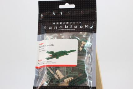 nanoblock ナイルワニ2
