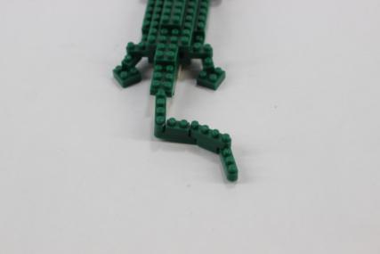 nanoblock ナイルワニ10