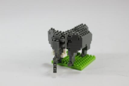 nanoblock アフリカゾウ8