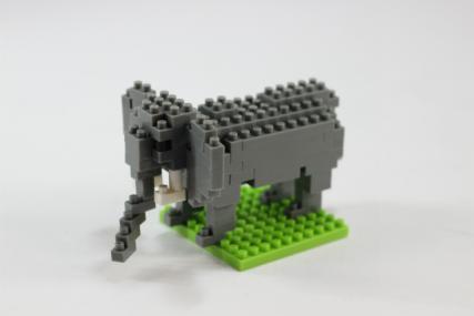 nanoblock アフリカゾウ13