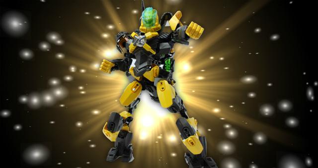 超合体戦士E-GODV!