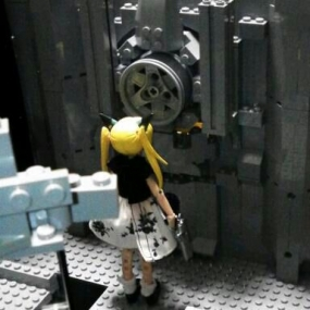 レゴ製1/12ドールハウス作成中5