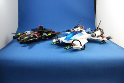 LEGO 5973 Hyperspeed Pursuit。