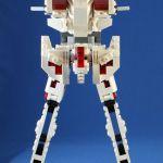 レゴで作ったガンダム・ユニコーン(作成途中)。