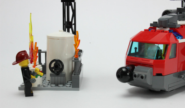 レゴ シティ ファイヤーヘリコプター