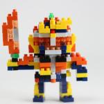 nanoblock 仮面ライダー鎧武 オレンジアームズ レビュー
