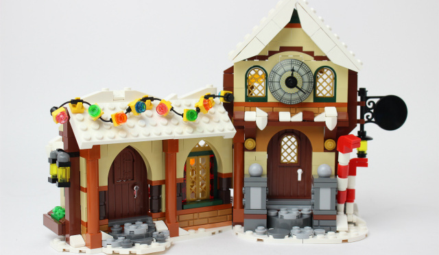 レゴ クリエイター サンタのワークショップ
