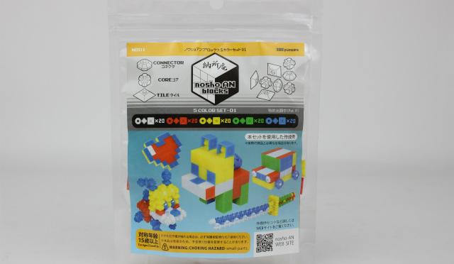 nosho-AN blocks 5カラーセット01 レビュー