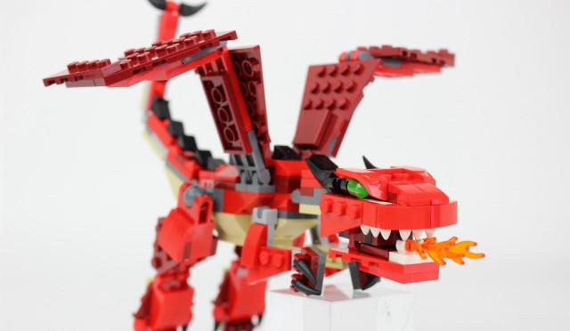 レゴ クリエイター ファイヤードラゴン