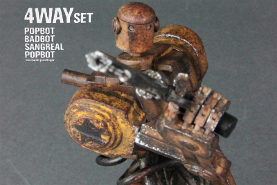 threeA  Action Portable POPBOT 4WAY SET レビュー