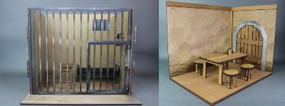 カントリーウッドガーデン 1/10 CWGクエストシリーズ(ギルドホーム) & ミニチュアドールハウス 牢屋Mサイズ レビュー