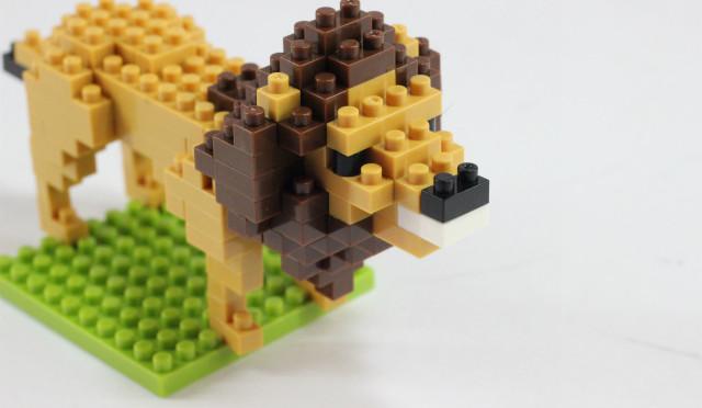何気によくできてる。nanoblock ライオン レビュー
