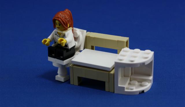 レゴ家具その2&告知。