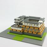 ナノブロック 姫路城 レビュー (前編)