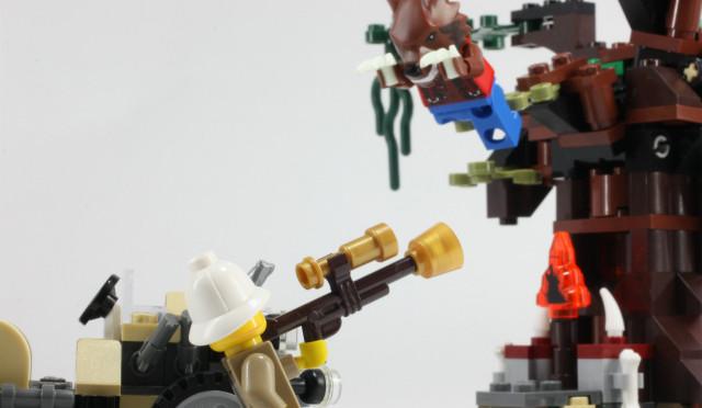レゴモンスターファイター オオカミ人間