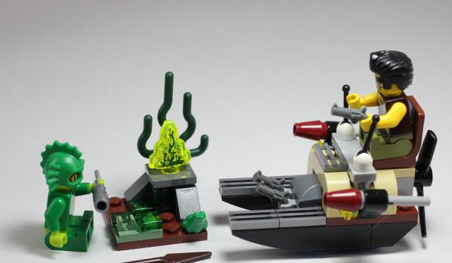 レゴモンスターファイター 沼怪人