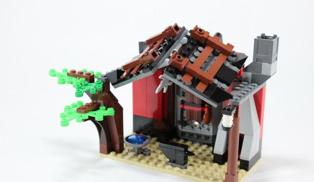 レゴニンジャゴー 鍛冶職人の小屋