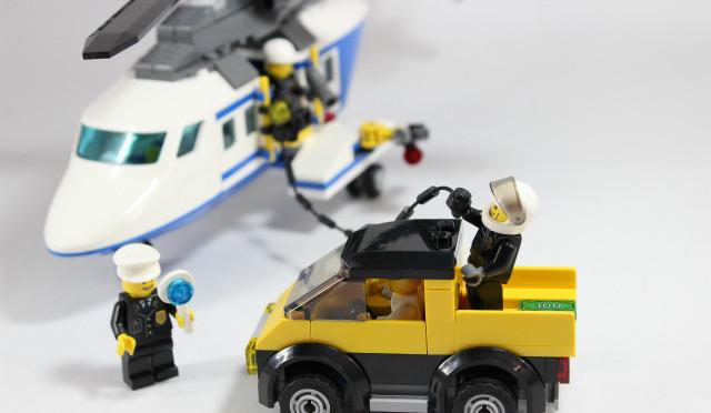 レゴ シティ ポリスヘリコプターの追跡 リミテッドエディッション