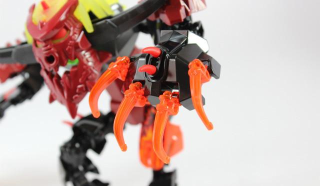 猛る牛人間! レゴ ヒーローファクトリー パイロックス
