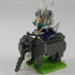 nanoblock アフリカゾウ レビュー